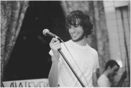 matt at the mic